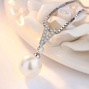 Jewelry - 825 Sterling Silver Necklace with pearl